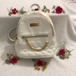 BEBE GINA MINI QUILTED BACKPACK